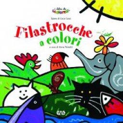 Copertina di 'Filastrocche a colori'