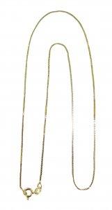 Copertina di 'Catena veneta in argento 925 dorato cm 55'