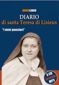 Copertina di 'Diario di Santa Teresa di Lisieux (Audiolibro - 3 CD formato MP3)'