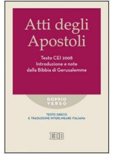 Copertina di 'Atti degli Apostoli. Testo CEI 2008'