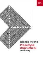 Cronologia delle lesioni (2008-2013) - Insana Jolanda