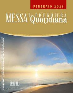 Copertina di 'Messa e preghiera quotidiana. Febbraio 2021'