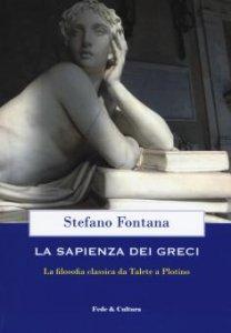 Copertina di 'La sapienza dei greci'
