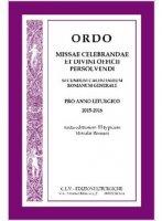 Ordo missae celebrandae et divini officii persolvendi 2015-2016