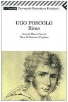 Rime - Foscolo Ugo