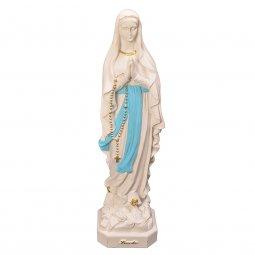 """Copertina di 'Statua  in resina colorata """"Madonna di Lourdes"""" - altezza 41 cm'"""
