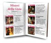 Immagine di 'Libretto con Rosario Madre Teresa di Calcutta - italiano'