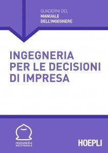 Copertina di 'Ingegneria per le decisioni d'impresa'