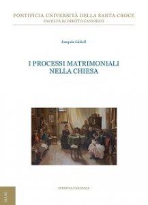 Copertina di 'I processi matrimoniali nella Chiesa'