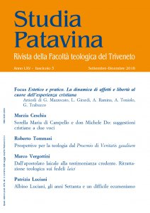 Copertina di 'Studia Patavina 2018/3'