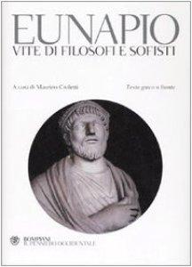 Copertina di 'Vite di filosofi e sofisti. Testo greco a fronte'