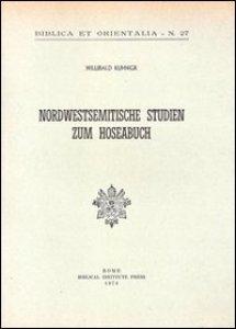 Copertina di 'Nordwestsemitische Studien zum Hoseabuch'