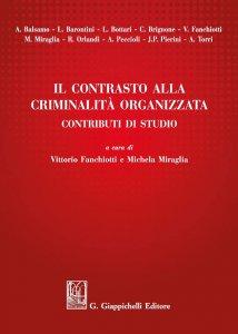 Copertina di 'Il contrasto alla criminalità organizzata'