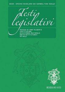 Copertina di 'Testi legislativi'