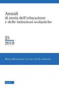 Copertina di 'Annali di storia dell'educazione e delle istituzioni scolastiche'