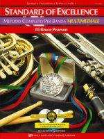 Standard of excellence. Metodo completo per banda multimediale. Tambruri e percussioni a tastiera. Livello 1. Con 2 CD-Audio - Pearson Bruce