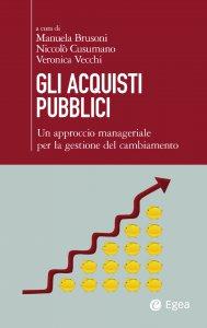 Copertina di 'Gli acquisti pubblici'
