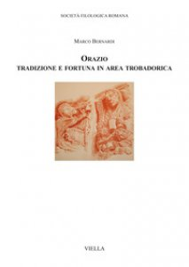 Copertina di 'Orazio. Tradizione e fortuna in area trobadorica'