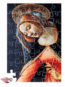 """Copertina di 'Puzzle """"Annunciazione di Cestello"""" (48 pezzi)'"""