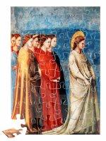 """Puzzle """"Maria ritorna a Nazareth con sette ancelle"""" (48 pezzi) - Giotto"""