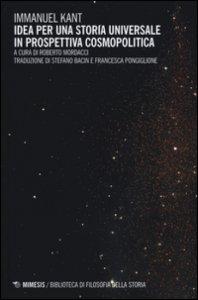 Copertina di 'Idea per una storia universale in prospettiva cosmopolitica'