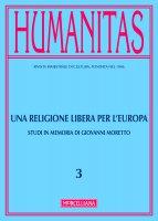 Humanitas. 3/2017: Religione libera per l'Europa. (Una)