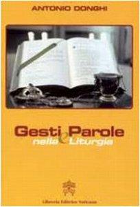 Copertina di 'Gesti e Parole nella Liturgia'