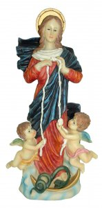 Copertina di 'Statua di Maria che scioglie i nodi da 30 cm'