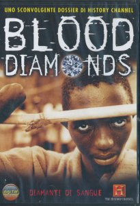 Copertina di 'Blood diamonds - Diamanti di sangue'