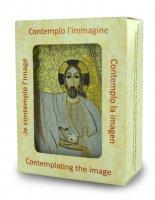 Immagine di 'Quadro stampa cm 5,3 x 7,2 spessore cm 2,5 - Cristo di Padre Rupnik'