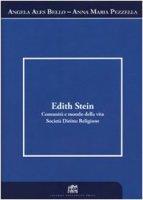 Edith Stein. Comunità e mondo della vita. Società. Diritto. Religione