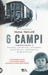 Copertina di '6 campi. Sopravvissuta a Terezín, Auschwitz, Kurzbach, Gross-Rosen, Mauthausen e Bergen-Belsen'