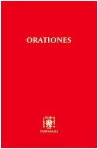 Copertina di 'Orationes'