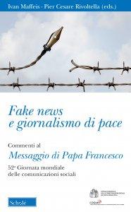 Copertina di 'Fake news e giornalismo di pace'