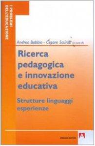 Copertina di 'Ricerca pedagogica e educazione educativa'