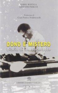 Copertina di 'Dono e mistero'