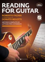 Reading for guitar. Metodo completo di lettura per chitarristi. Con file audio per il download. Con CD-Audio - Fazari Roberto, Begotti Donato