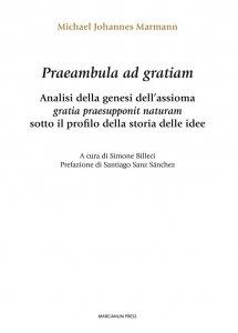 Copertina di 'Praeambula ad gratiam'