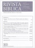 Rivista biblica 1-2  (2016)