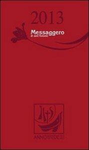 Copertina di 'Agenda Messaggero di sant'Antonio 2013'