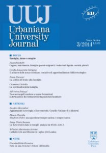 Copertina di 'Urbaniana University Journal-Euntes Docete 3/2014/LXVII'