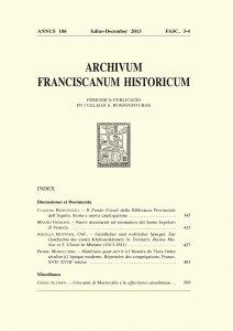 Copertina di 'Visitatio Ecclesie S. Isidori Die 25 Augusti 1628. La fabbrica dei Frati Minori irlandesi a Roma (pp. 599-606)'