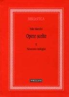 Opere scelte [vol_2] - Mancini Italo