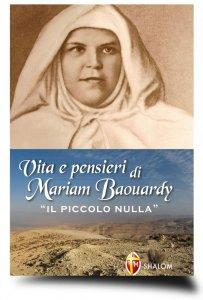 """Copertina di 'Vita e pensieri di Mariam Baouardy """"Il piccolo nulla""""'"""