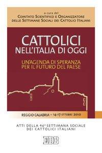 Copertina di 'Cattolici nell'Italia di oggi'