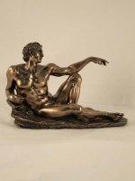 Immagine di 'Creazione di michelangelo in resina bronzata'