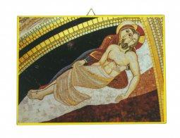 Copertina di 'Quadro stampa Pietà Padre Rupnik - 10,8 x 14,5 cm'