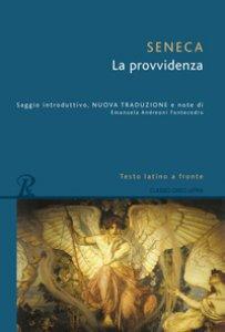 Copertina di 'La provvidenza. Testo latino a fronte'