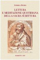 Lettura e meditazione quotidiana della Sacra Scrittura - Iperio Andrea