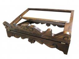 Copertina di 'Leggio da tavolo in legno stile settecentesco - dimensioni 35x28 cm'